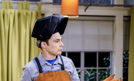 Sheldon's Working Hard - The Big Bang Theory Season 10 Episode 15