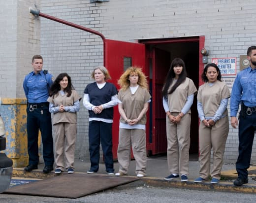 Lining Up for the Future - Orange is the New Black