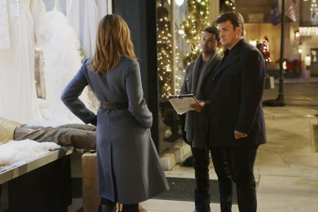 Advice for Espo - Castle Season 7 Episode 10
