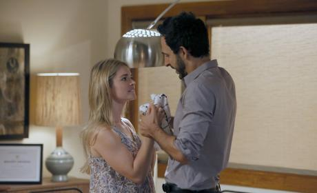 Aram gets in some quality time with his girlfriend - The Blacklist Season 4 Episode 6