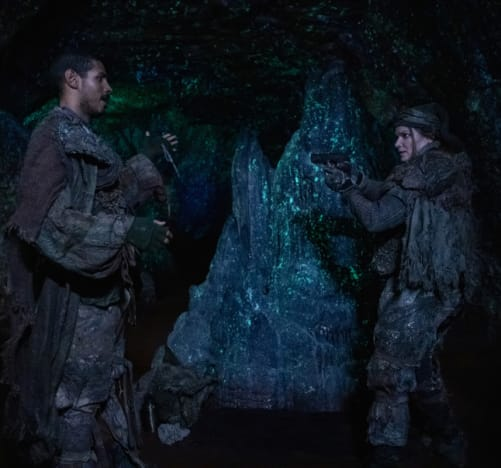 Xavier and Diyoza Face Off - The 100 Season 6 Episode 6