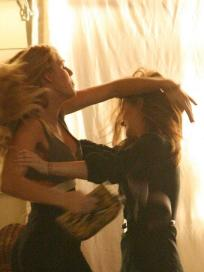 Serena-Blair Fight