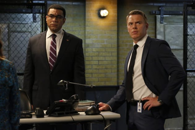 Ressler and Harold - The Blacklist Season 5 Episode 3