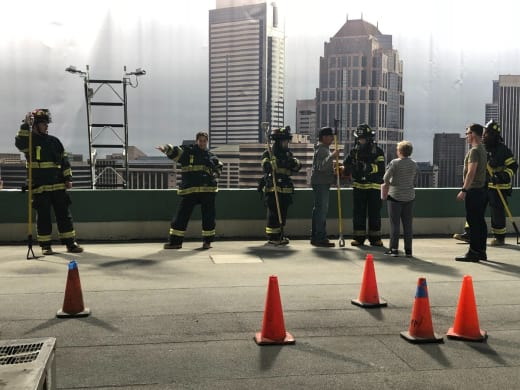 Station 19 on the Roof Season 1 Episode 3