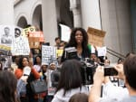 Justice for Jamal Protest - Good Trouble Season 1 Episode 13