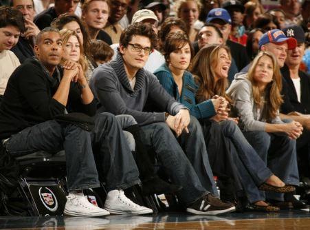 Ellen and Chris at Knicks Game