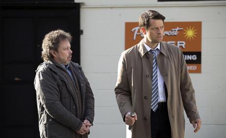 Metatron and Castiel - Supernatural Season 10 Episode 18