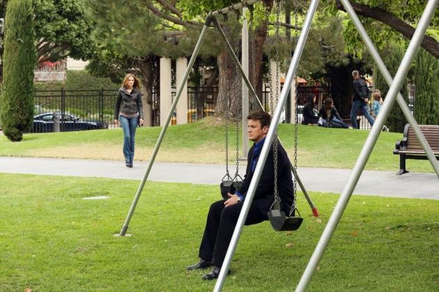 Castle on a Swing