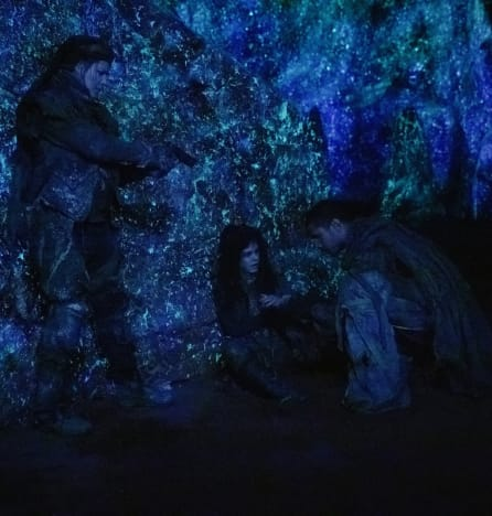 Diyoza, Octavia, and Xavier Together - The 100 Season 6 Episode 6