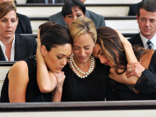 The Ladies at a Funeral