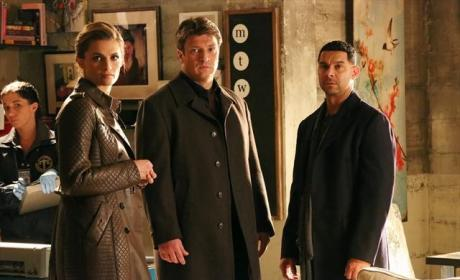 Castle, Beckett and Espo