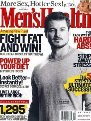 Eric Dane: Men's Health