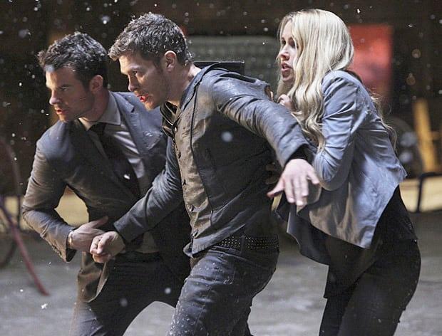 Claire Holt and Company - The Originals Season 2 Episode 22