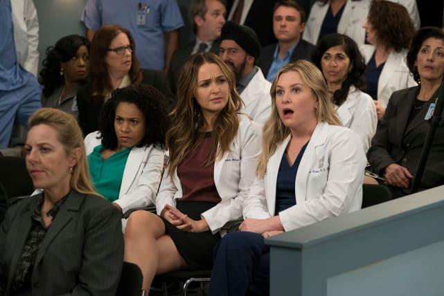 It Was That Moment When Arizona Realized ... - Grey's Anatomy Season 14 Episode 20