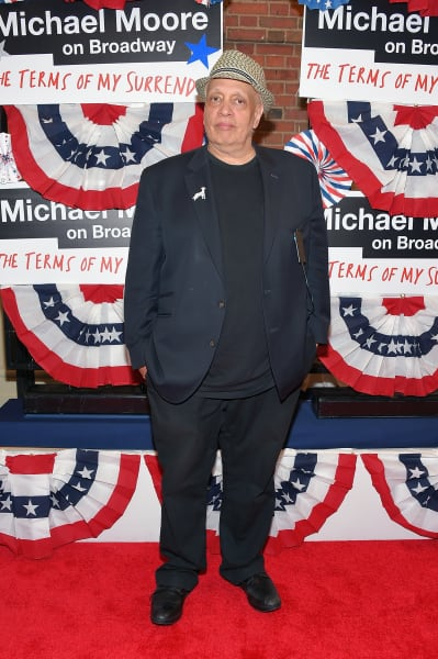 Walter Mosley Attends Broadway Opening
