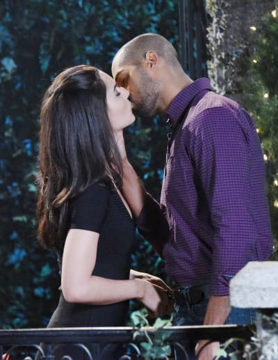 Gabi and Eli Get Closer - Days of Our Lives