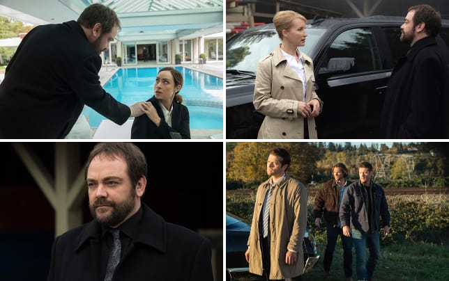 Crowley wants to go for a swim supernatural season 12 episode 8