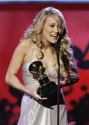 Carrie Underwood Grammy Award Winner Helps Take American Idol