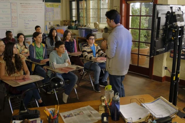 Sex Ed Class - The Fosters