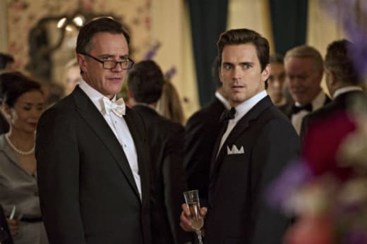 Peter and Neal Work The Case - White Collar