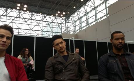 Shadowhunters Stars Alberto Rosende, Harry Shum, Jr. and Isaiah Mustafa Tease Secrets and Sorcery