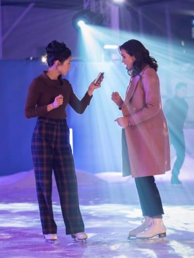 Ice Skating - Nancy Drew Season 2 Episode 10