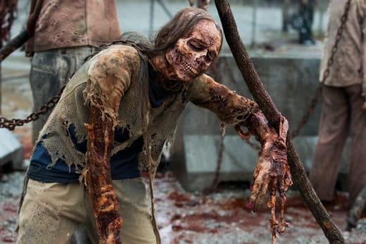 The Best Defense Is A Great Offense - The Walking Dead Season 8 Episode 1