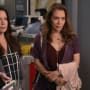 Holly Marie Combs and Alyssa Milano on Grey's Anatomy