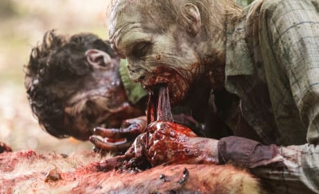That Looks Delicious - The Walking Dead Season 8 Episode 6