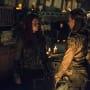 Niylah and Clarke Chat - The 100 Season 3 Episode 1