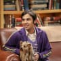 Raj and the Dog - The Big Bang Theory Season 10 Episode 18