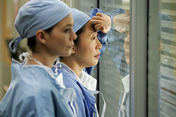 Meredith and Cristina