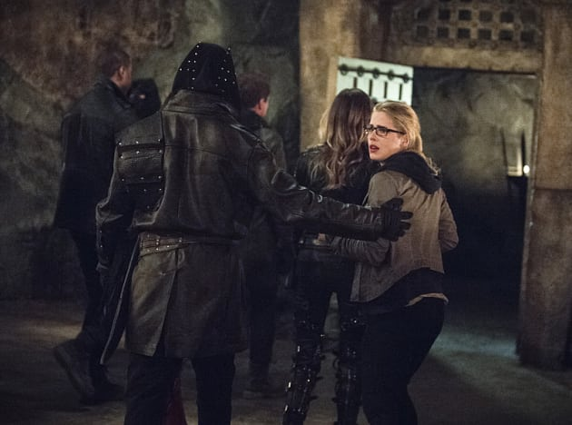 Nooooo! - Arrow Season 3 Episode 22