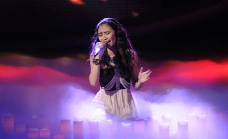 Jessica Sanchez in Action