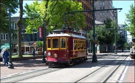 Memphis Trolley Car