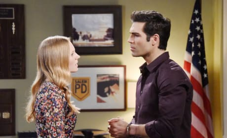 Dario Blackmails Abigail - Days of Our Lives