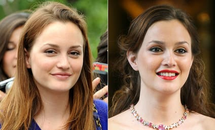 Leighton Meester Turns on the Glamor