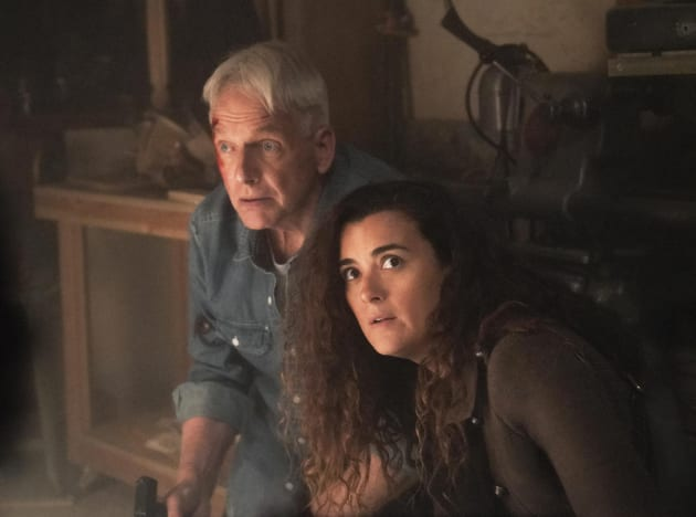Ziva Helps Gibbs - NCIS