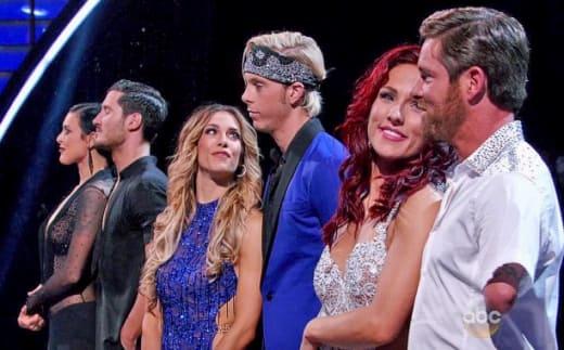 Dancing finalists