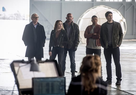 The Legends - The Flash Season 3 Episode 8