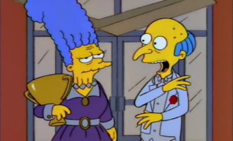 Mr. Burns and Jackie