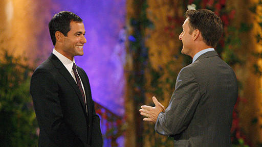 Jason Mesnick and Chris Harrison