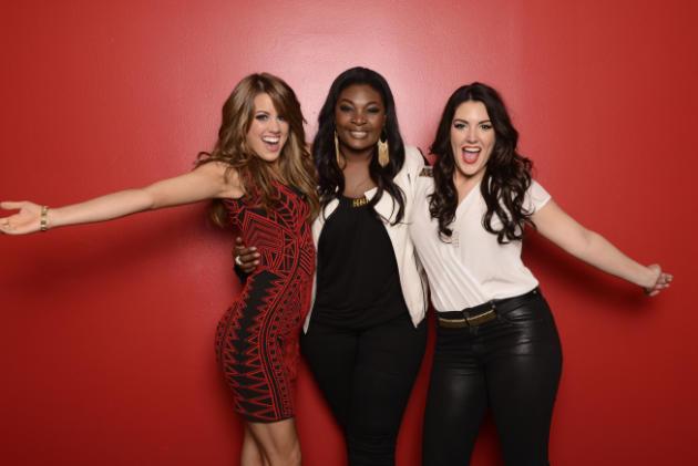 Angie, Candice and Kree