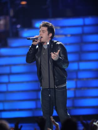 DeWyze in the Finals
