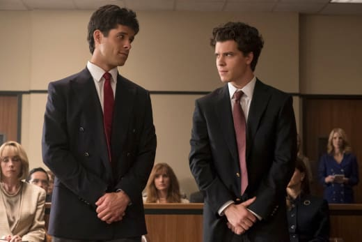 Brothers Stand in Court - Law & Order True Crime: The Menendez Brothers Season 1 Episode 3