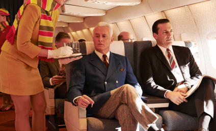 Mad Men Promotional Pics: Taking Flight