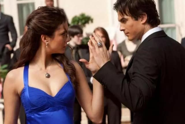 Damon and Elena - The Vampire Diaries