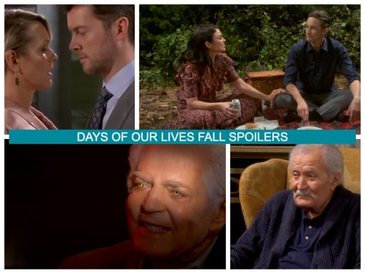 Spoilers for the Fall of 2021 - Days of Our Lives