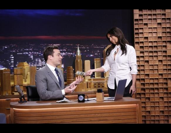 Kim Kardashian on The Tonight Show
