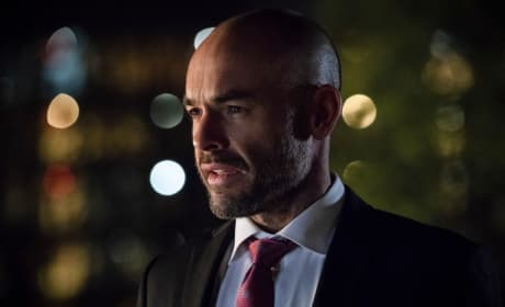 Quentin Lance Close Up - Arrow Season 6 Episode 23